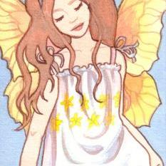 Art: Summerwings ACEO by Artist Carmen Medlin