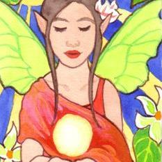 Art: Jungle Mystic ACEO by Artist Carmen Medlin