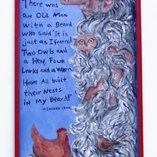 Art: There Was an Old man with a Beard... by Artist Sara Field