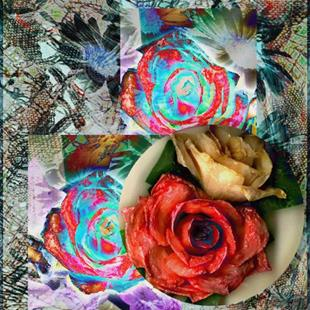 Art: Rose Colored Glasses by Artist Carolyn Schiffhouer