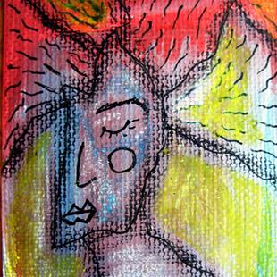 Art: The Dreaming Time ACEO by Artist Diane G. Casey