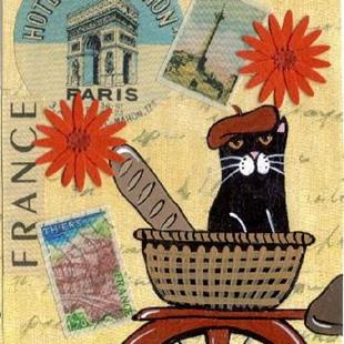 Art: Coupon in Paris #3 art card by Artist S. Olga Linville