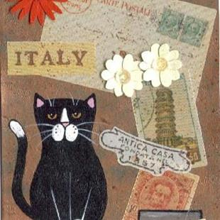 Art: Coupon in Italy by Artist S. Olga Linville