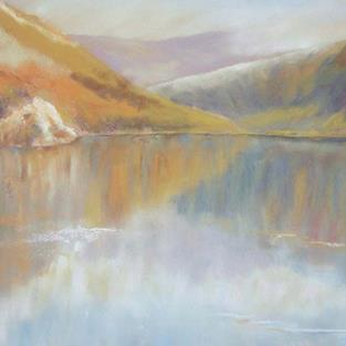 Art: Llyn Gwynant (Snowdonia) - (SOLD) by Artist John Wright