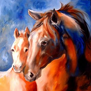 Art: SPIRIT COLT by Artist Marcia Baldwin