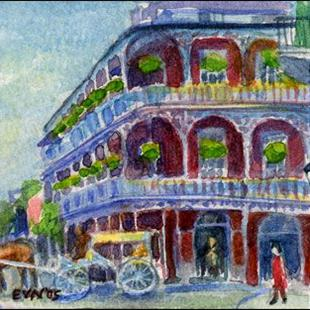 Art: The French Quarter by Artist Erika Nelson