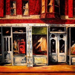 Art: Small Town by Artist Diane Millsap