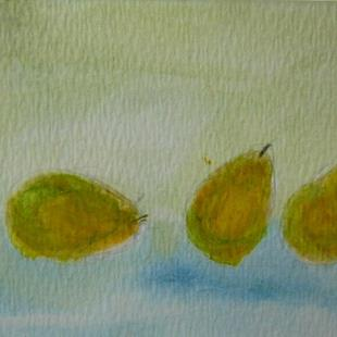 Art: 3 pears  by Artist Eridanus Sellen