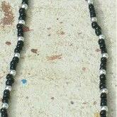 Art: Black Onyx Necklace by Artist Eridanus Sellen