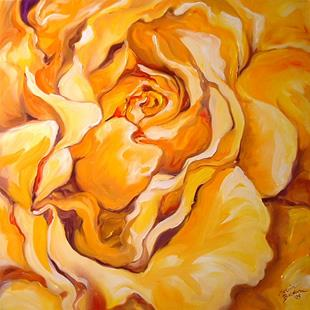Art: A YELLOW ROSE OF TEXAS by Artist Marcia Baldwin