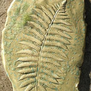 Art: Fern wall ART by Artist Deborah Sprague