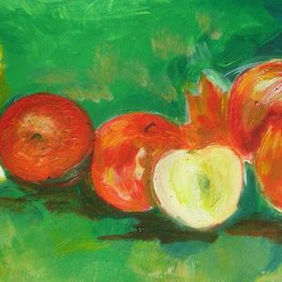 Art: Autumn Apples by Artist Eridanus Sellen