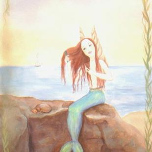 Art: Water Fairy   by Artist Cynthia Schmidt