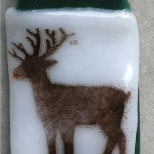 Art: Holiday Reindeer by Artist Deborah Sprague