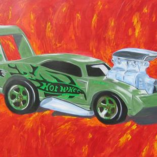 Art: Hot Wheels by Artist Ben Walker
