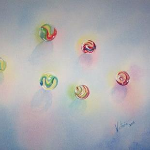 Art: Lost Marbles by Artist Torrie Smiley