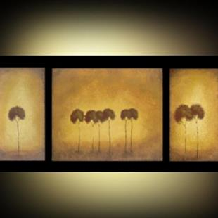 Art: Tuscan Autumn Trees - SOLD by Artist Charlene Murray Zatloukal