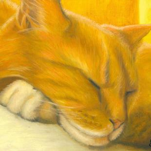 Art: Sunlit Siesta by Artist Leanne Wildermuth