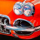Art: THE CORVETTE by Artist Marcia Baldwin