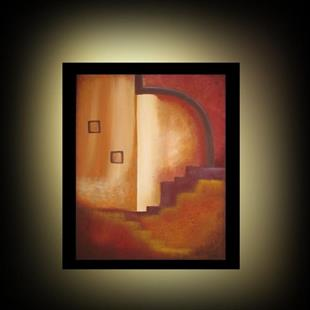 Art: Destiny's Stairway -SOLD by Artist Charlene Murray Zatloukal