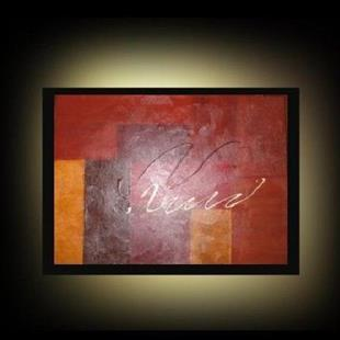 Art: Abstract in Earthtones by Artist Charlene Murray Zatloukal
