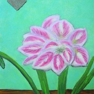Art: Amaryllis for My Sister by Artist Donna Gill