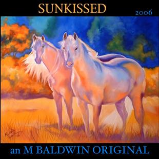 Art: SUNKISSED by Artist Marcia Baldwin
