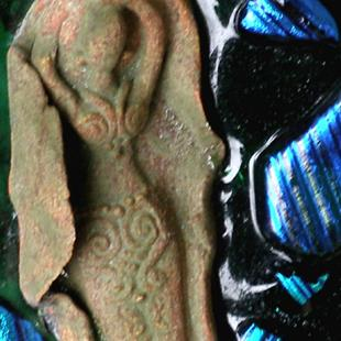 Art: Goddess Brooch by Artist Deborah Sprague