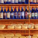 Art: Wine and Cheese SOLD by Artist Kathy Haney