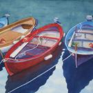 Art: Row, Row, Row Your Boat SOLD by Artist Kathy Haney