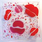 Art: Kiss Dish by Artist Dawn Lee Thompson