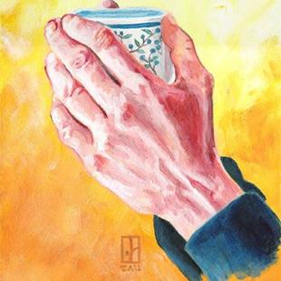 Art: Morning Hands by Artist Tau