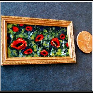 Art: Evening Poppies ~ Sold by Artist Dana Marie