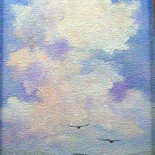 Art: Clouds by Artist Barbara Haviland
