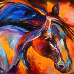 Art: SPIRIT OF THE WEST by Artist Marcia Baldwin