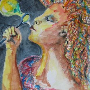 Art: Dream Maker, SOLD by Artist Delilah Smith