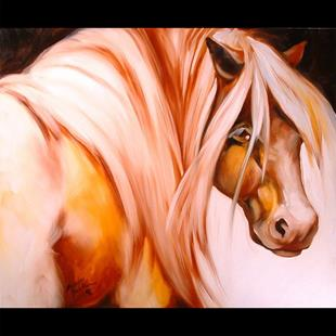 Art: THE SPIRIT PONY by Artist Marcia Baldwin