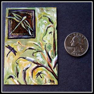 Art: Dance of the Damsel ~ Miniature 1:12 (Up for Auction at eBay) by Artist Dana Marie