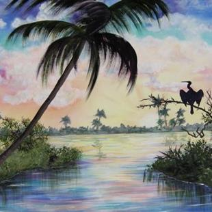 Art: Florida #0141 - SOLD by Artist Ke Robinson