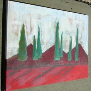 Art: abstract landscape by Artist Eridanus Sellen