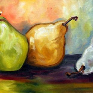 Art: three pear tuesday by Artist Laurie Justus Pace