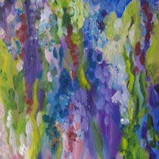 Art: Wisteria, SOLD by Artist Delilah Smith