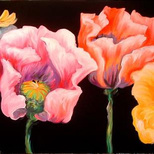 Art: POPPY DANCE by Artist Marcia Baldwin