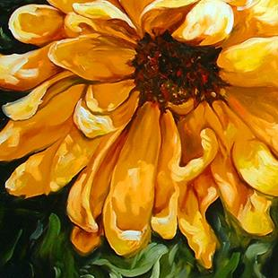 Art: SUNFLOWER OF TUSCANY by Artist Marcia Baldwin
