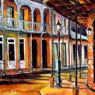 Art: Early Morning in the French Quarter - SOLD by Artist Diane Millsap