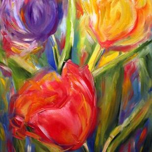 Art: Penny's Tulips by Artist Laurie Justus Pace