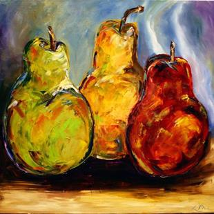 Art: Split Pears by Artist Laurie Justus Pace