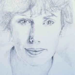 Art: Self-Portrait by Artist Susan Frank