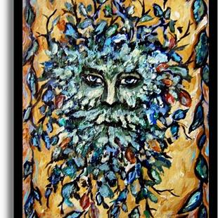 Art: The Greenman ~ Sold by Artist Dana Marie