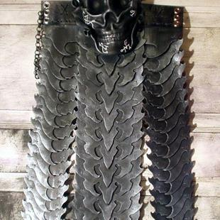 Art: Vulture Skirt by Artist Barbara Doherty (MidnightZodiac Leather)